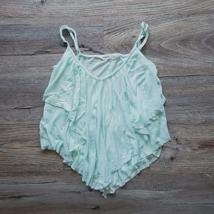 🌷SPRING COLLECTION: Mint Flowy Tank